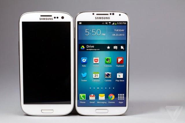 Spesifikasi Handphone S4 - White
