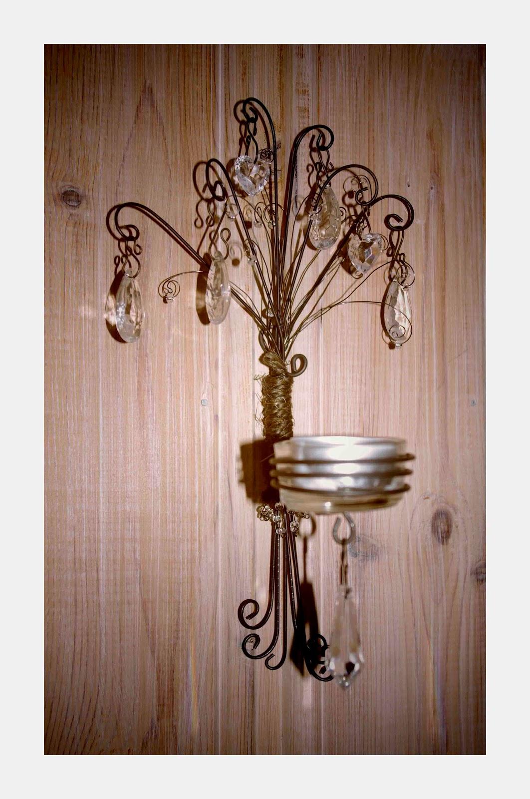Krokp rla luffarsl jd ljuslyktor med prismor och rep for S hooks for crafts