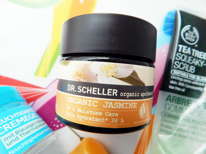 Review: Dr. Scheller Organic Apothecary Organic Jasmine 24h Moisture Care