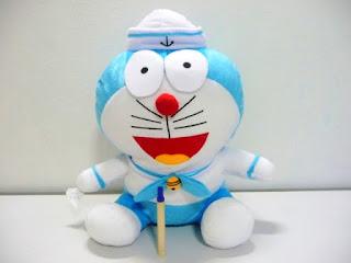 Gambar boneka doraemon ukuran jumbo