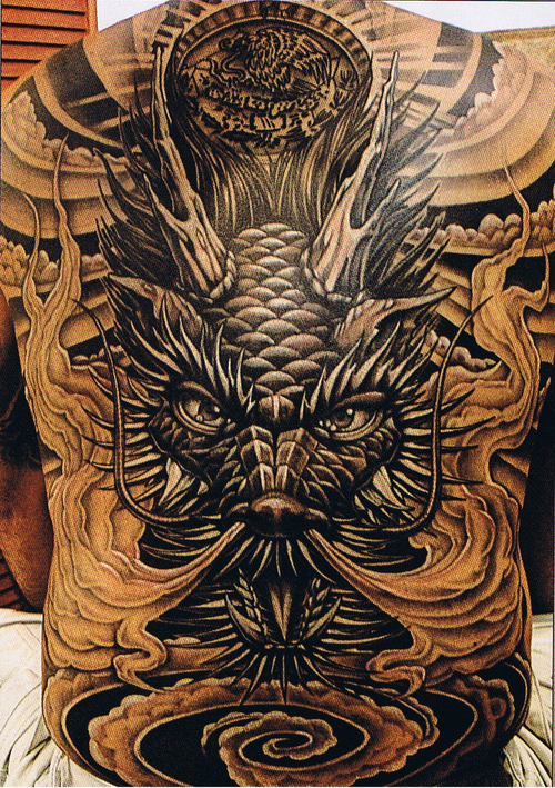 Monster Ink Tattoo