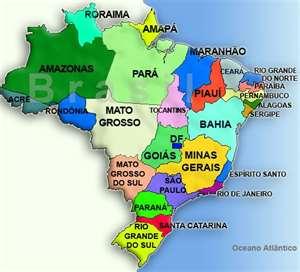 Brasil  MAPAS DE