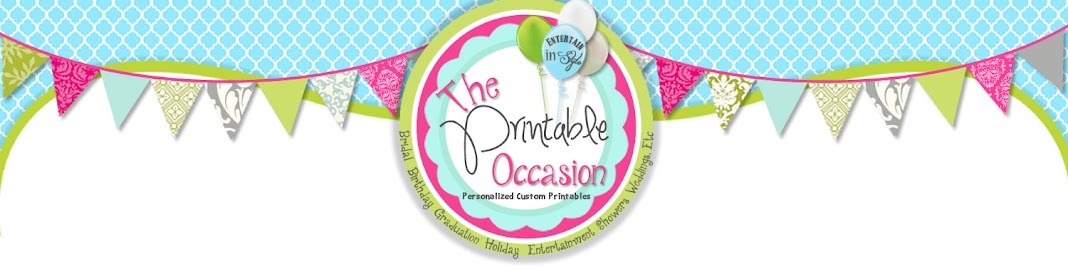 The Printable Occasion - Party Printables