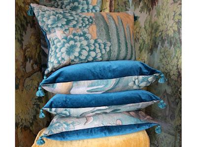 Zoffany Verdure cushions