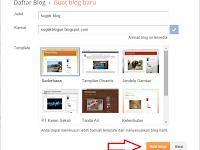 Cara membuat blog di blogspot gratis sendiri dengan mudah