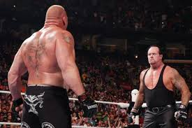 Undertaker Taker Brock Lesnar Beast Raw Battleground Streak Heyman