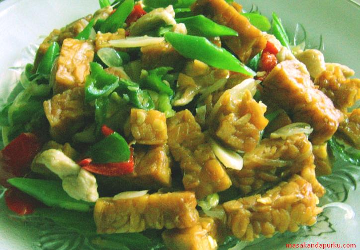 resep sederhana tumis buncis campur tempe   mari buat masakan