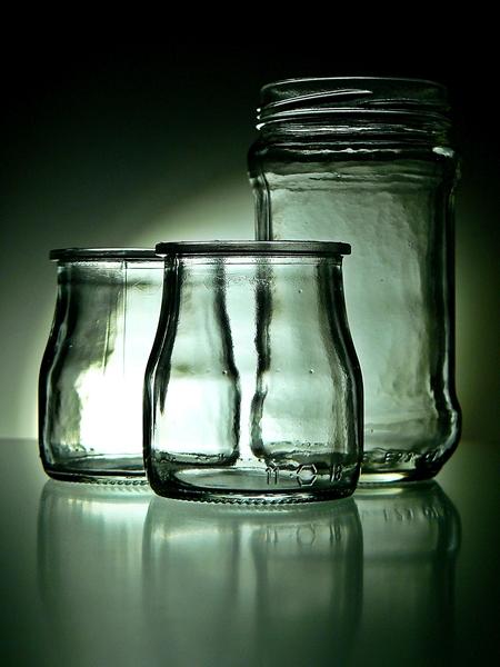 fotografias de frascos de vidro, glass photos