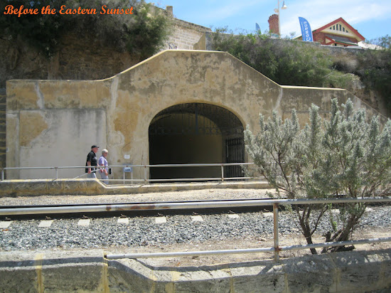 Fremantle City Round House tunnel