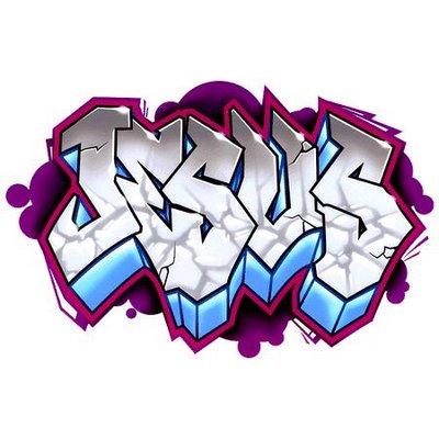 Jesus Graffiti Letters