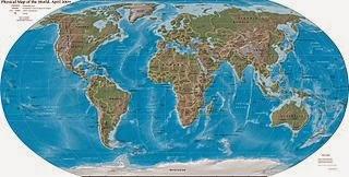 Gambar Peta Dunia Lengkap