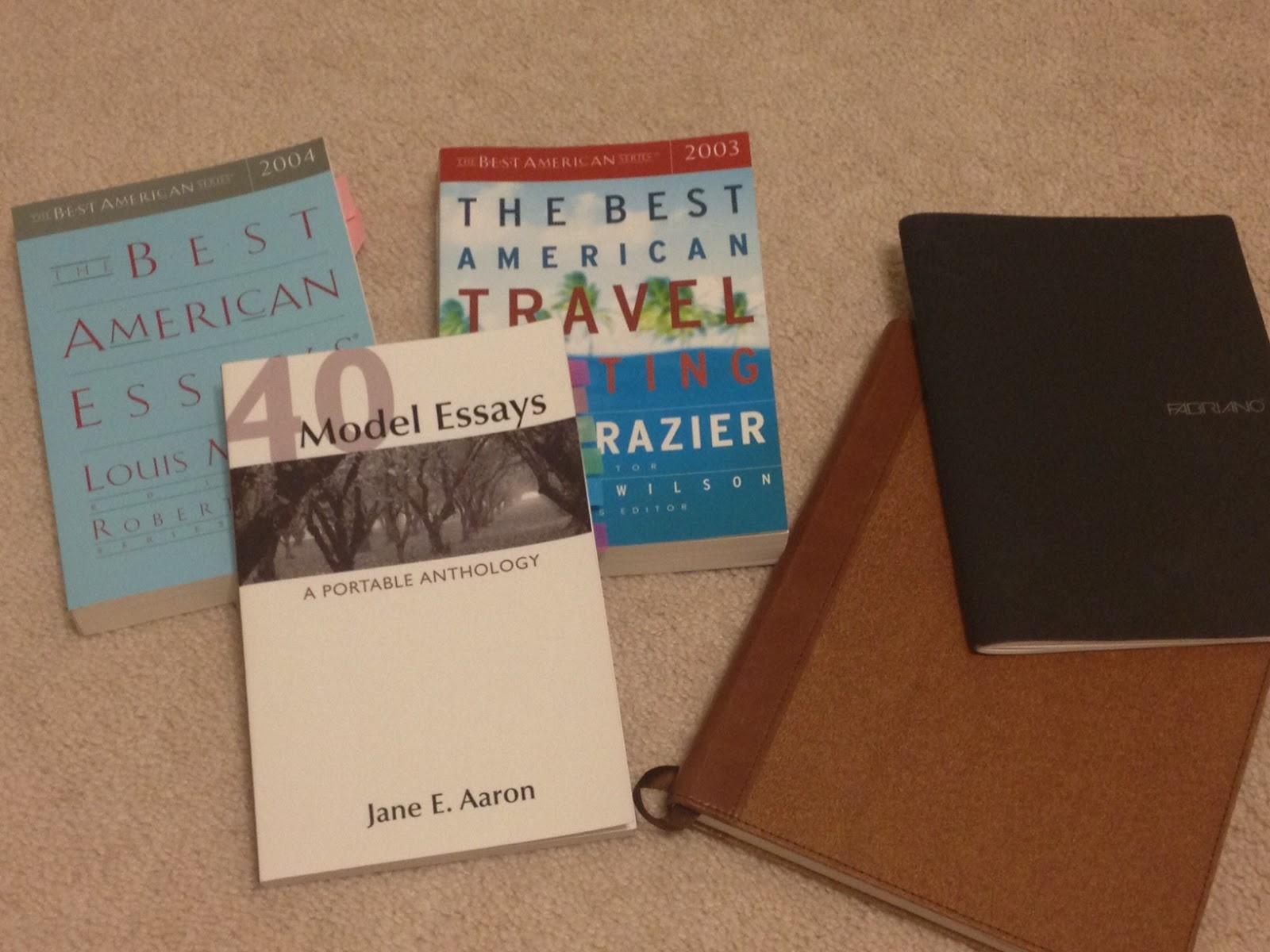 40 model essays a portable anthology online