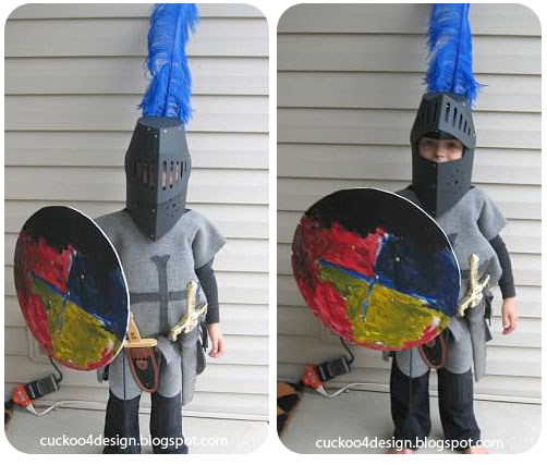 Boy Knight Costume