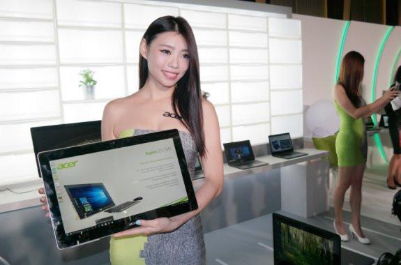 демонстрация моноблока Acer Aspire Z3-700