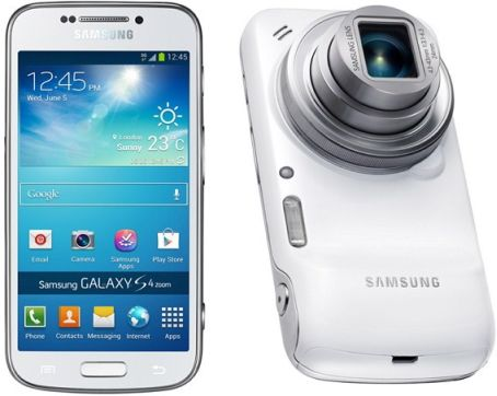 Samsung Galaxy S4 Zoom Android Phone with 10x Optical Zoom