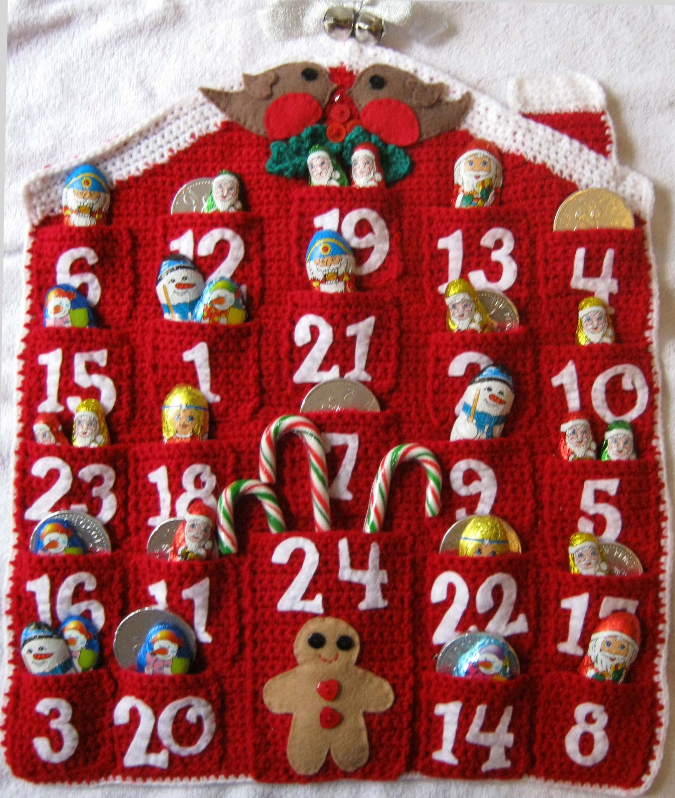 peapod soup: Advent Calendar Crochet Pattern