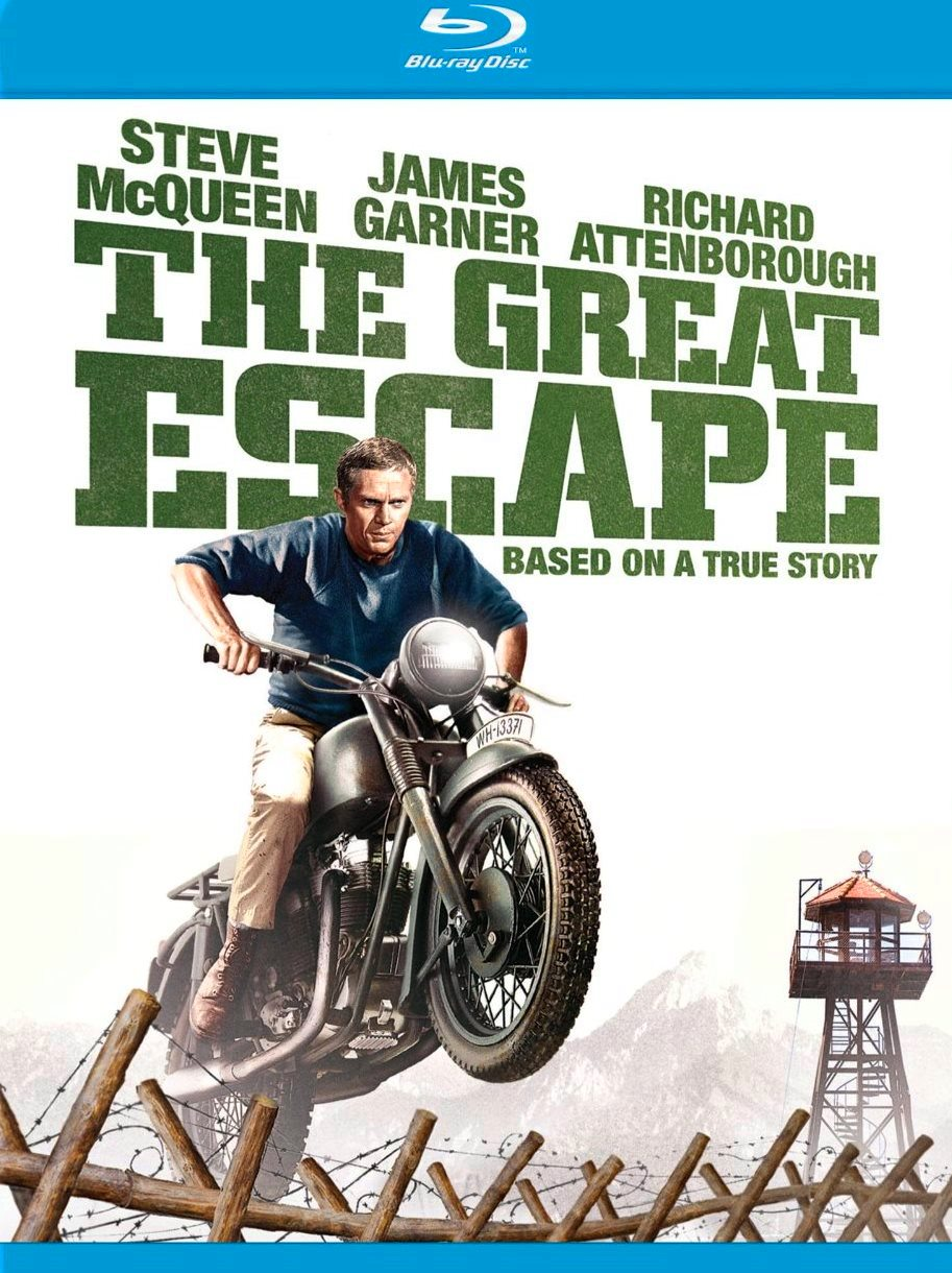 Nixpix dvd blu ray reviews the great escape blu ray for The great escape house