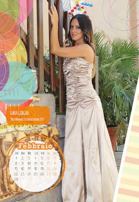 Calendario 2016 - Miss Mamma Italiana - Febbraio