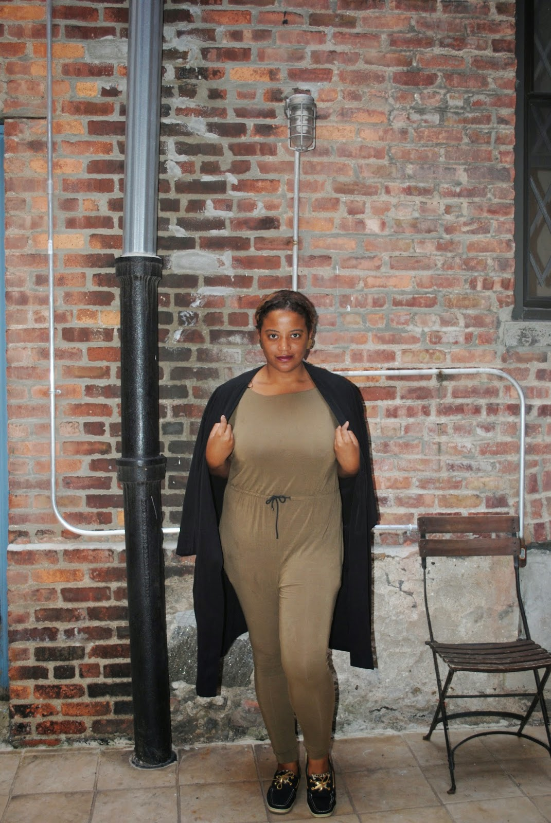 Edie's Closet Army Green Jumpsuit