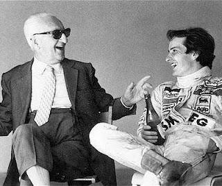 Enzo Ferrari Gilles Villeneuve Drake