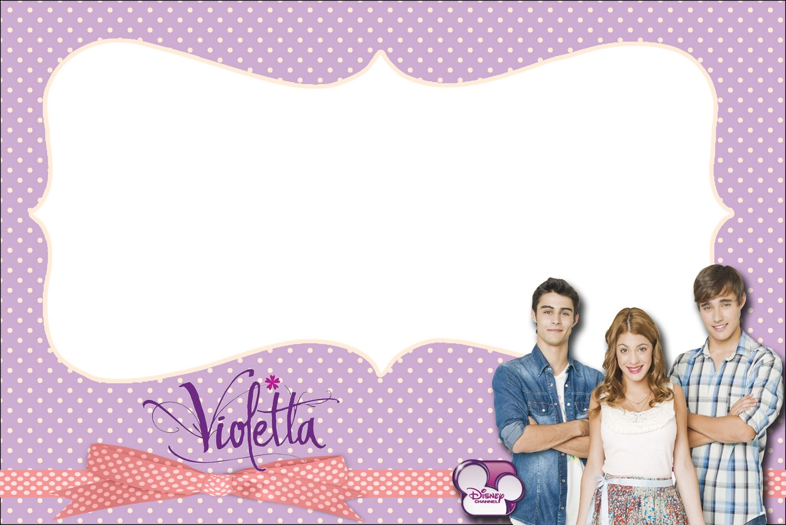 Violetta Free Printables Party Invitations Oh My Fiesta! in english