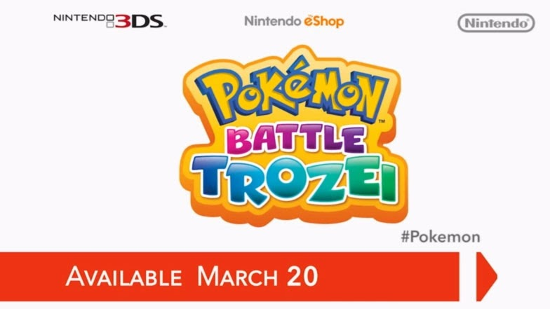 Pokémon Battle Trozei para Nintendo 3DS