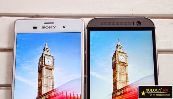 So sánh nhanh Sony Xperia Z3 Nhật Bản và HTC One M8.