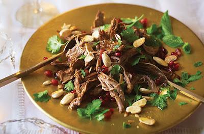Warm Moroccan Lamb Salad Recipe