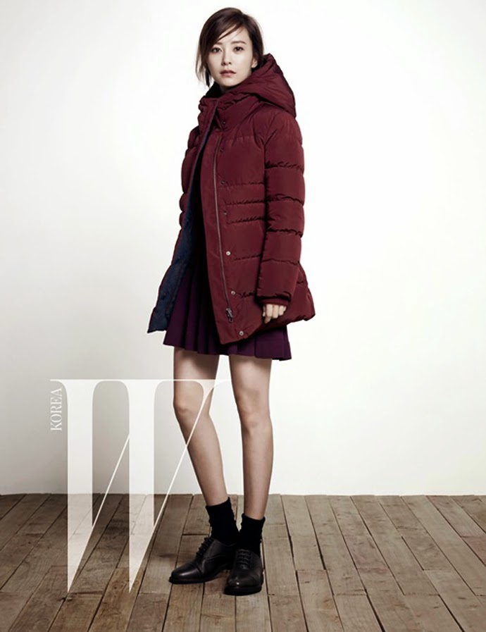 Jung Yoo Mi - W Magazine November 2014