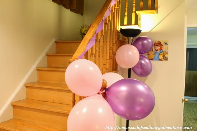 Sofia the First Party Decor