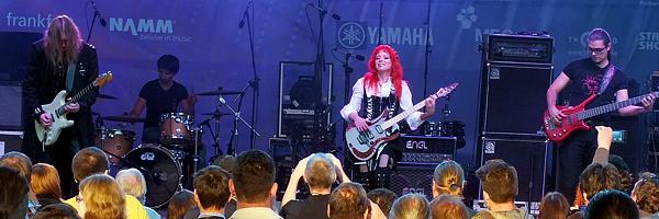 Концерт Елены Сигаловой на выставке NAMM musikmesse Russia 2014 - фотоотчет