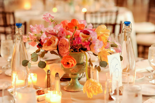 Centerpiece - Hall of Springs Wedding - Upsate NY - Saratoga - Splendid Stems