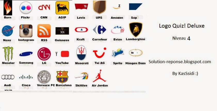 logo quiz deluxe solutions niveau 4 toutes les solutions r ponses des jeux android iphone. Black Bedroom Furniture Sets. Home Design Ideas