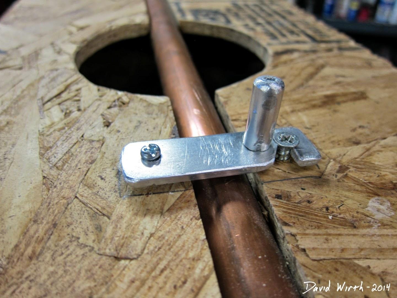 metal latch, homemade, diy, simple, easy