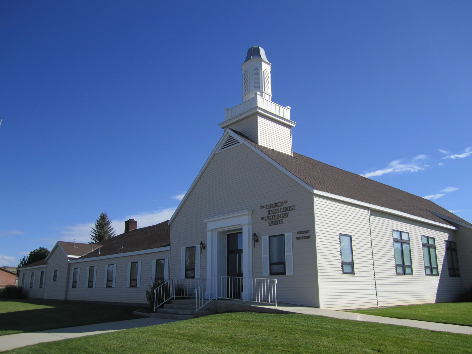 Mormon Steeples And Their Buildings