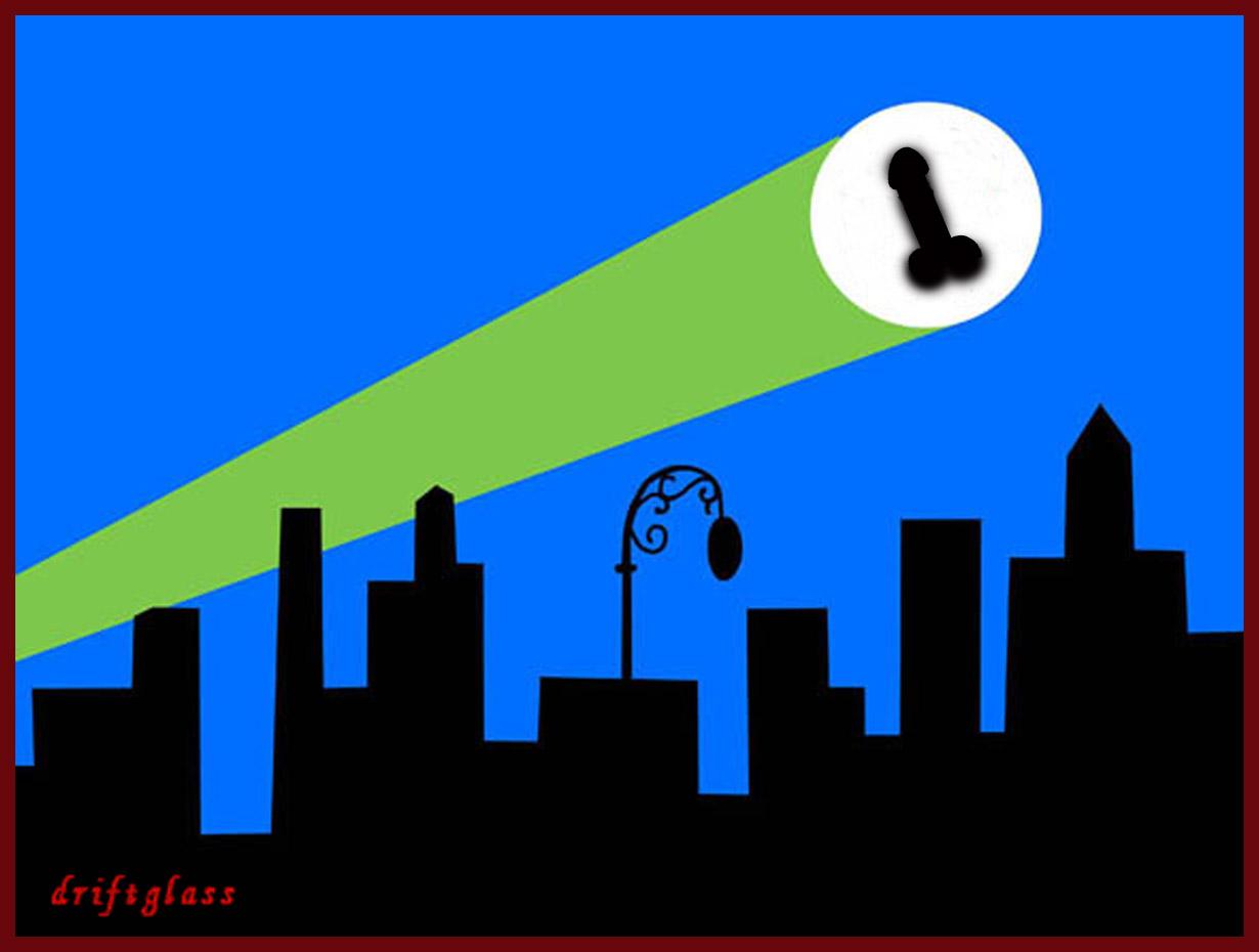 Как сделать бэт сигнал