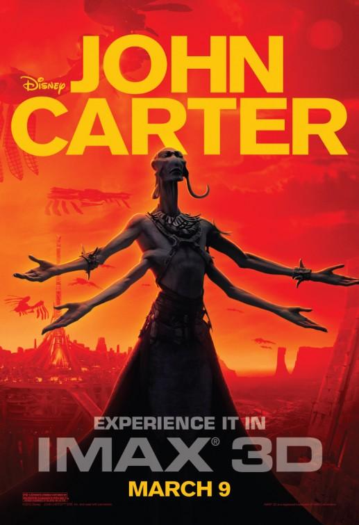 Disney John Carter poster