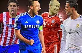 Jadual Penuh Perlawanan Champions League 2014