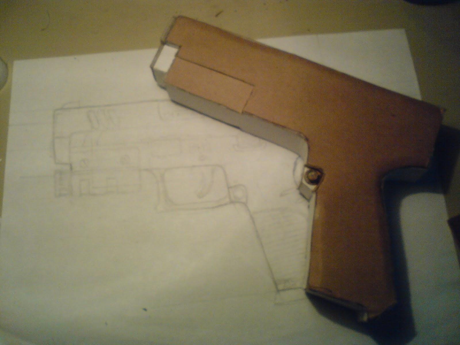 Pistola Blacktail - Resident Evil DSC04419