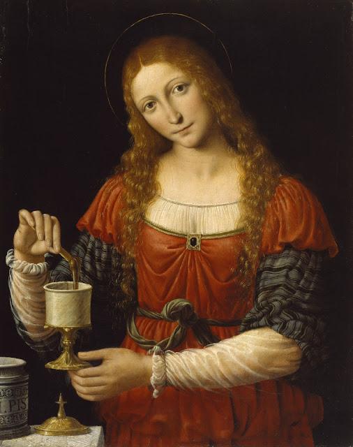Mary Magdalene ,Andrea Solario,Italian Renaissance