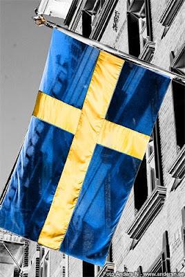 sveriges flagga, svensk flagga, sverige, sweden, swedish flag, foto anders n