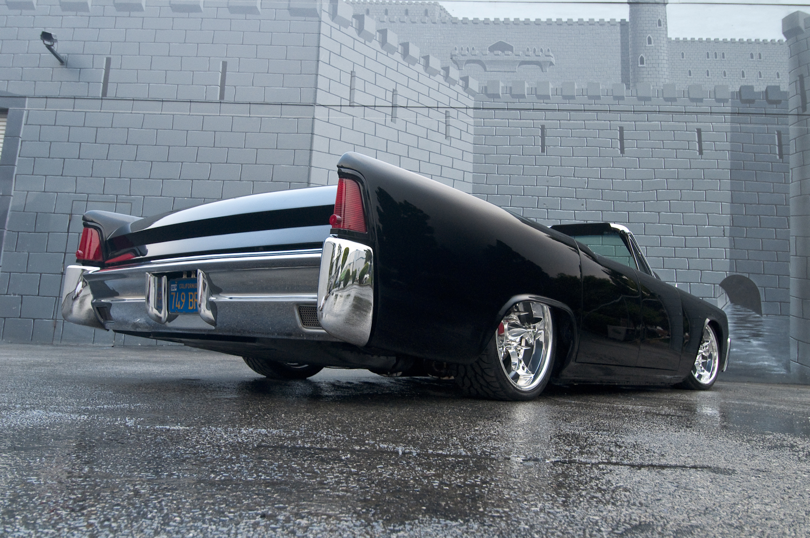 hot rod e kustom lincoln continental convertible 1964. Black Bedroom Furniture Sets. Home Design Ideas