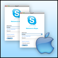 multiple Skype on a Mac