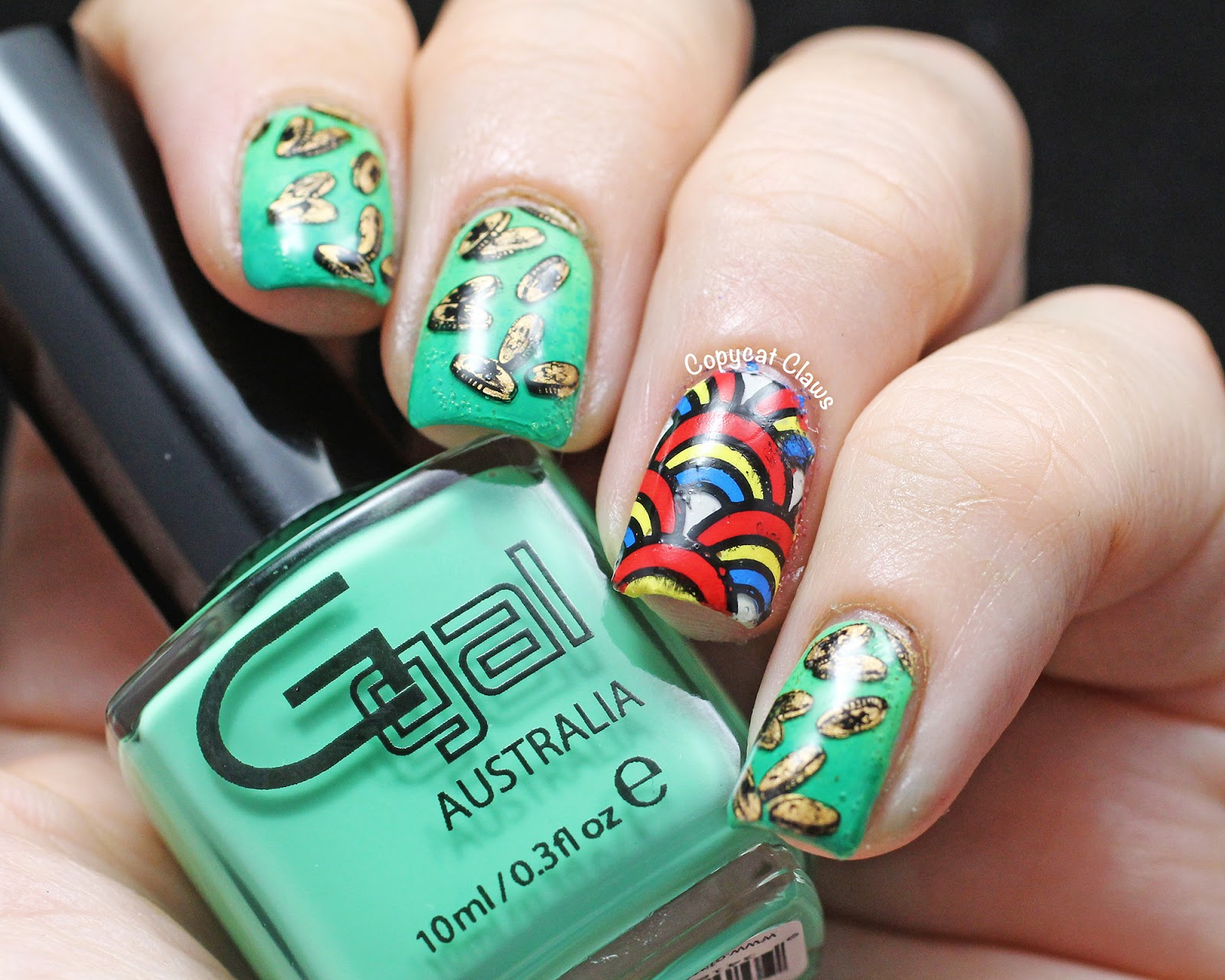Copycat Claws: Sunday Stamping - St. Patrick\'s Day