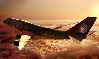 Amazing Airplane Above The Clouds HD Wallpaper