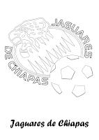 Jaguares de chiapas para colorear