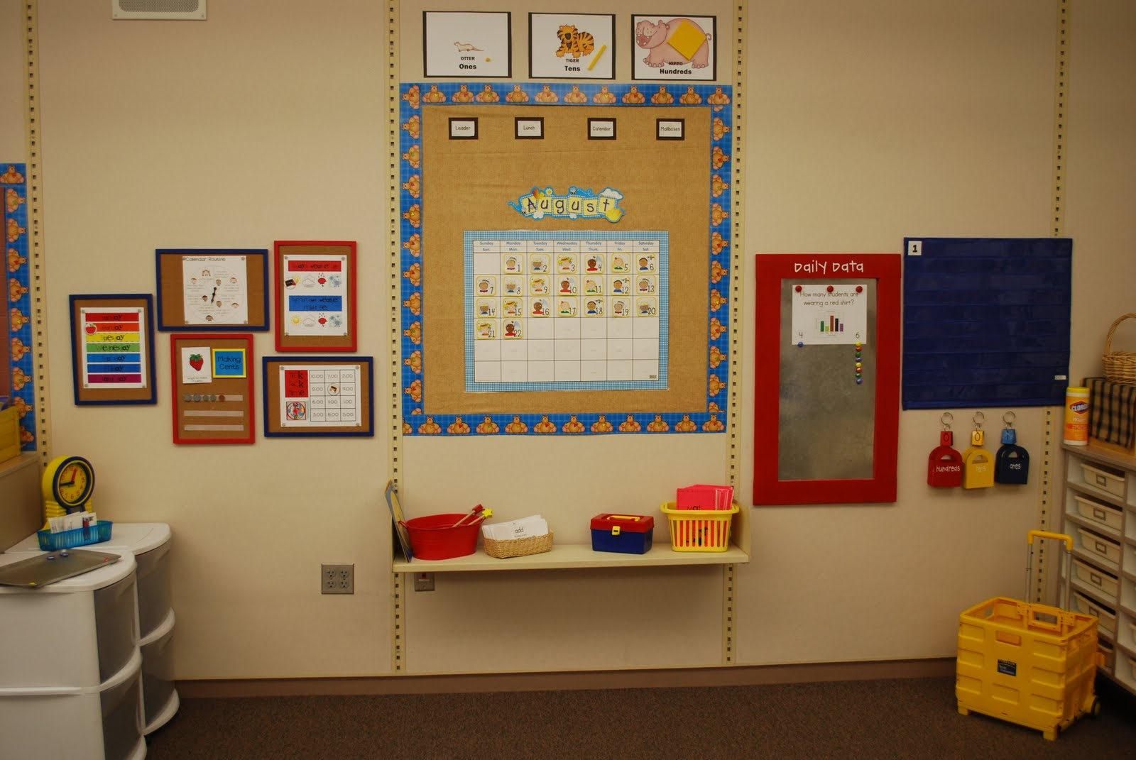 Classroom Meeting Ideas ~ Lory s nd grade skills calendar pieces