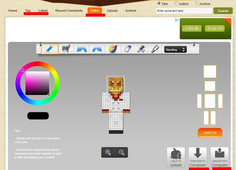 Minecraft Spielen Deutsch Criar Skin Para Minecraft Pc Bild - Criar skin para minecraft pc