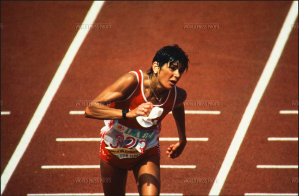 Gabrielle Andersen 1984 Olympic Games Los Angeles