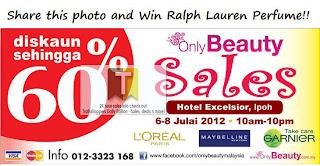 OnlyBeauty Sales 2012